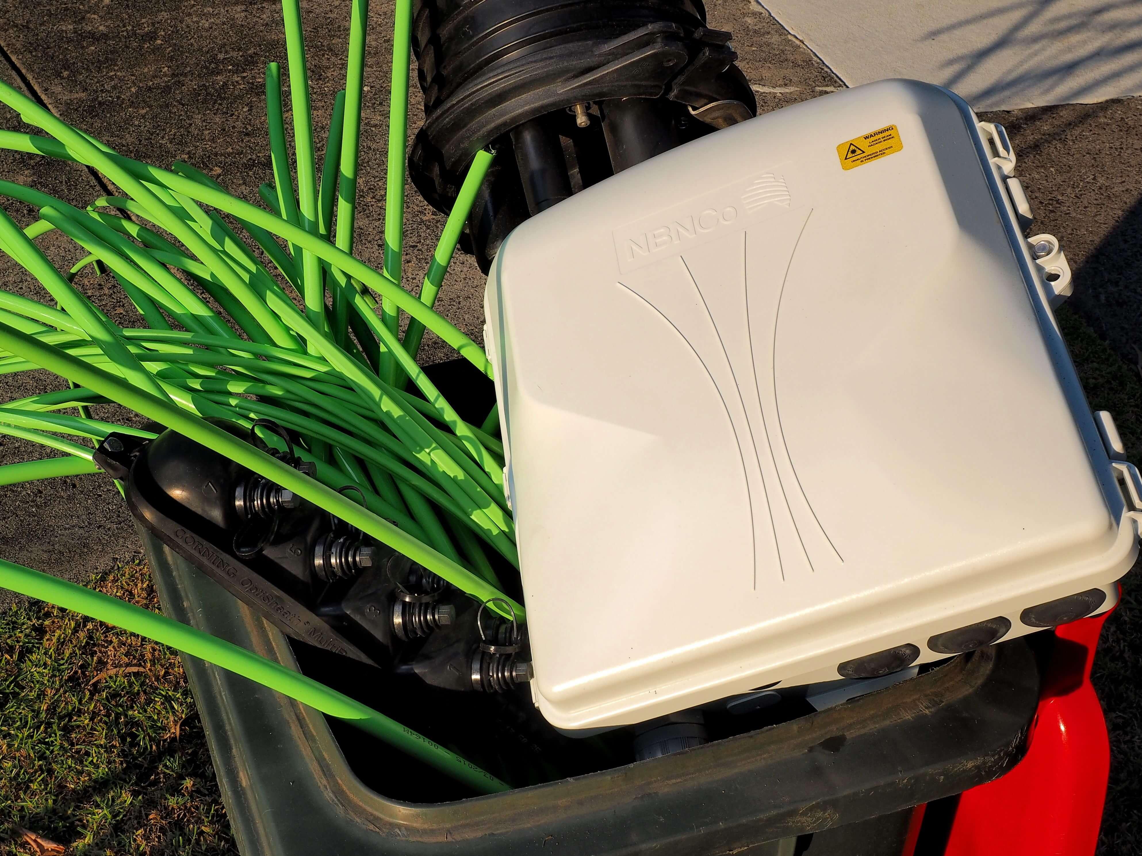 nbn cabling materials